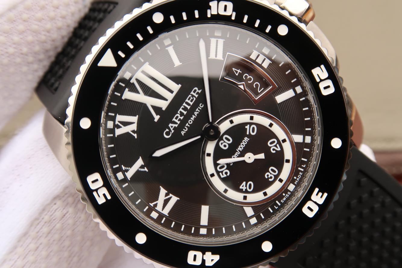 Calibre de Cartier Black Dial