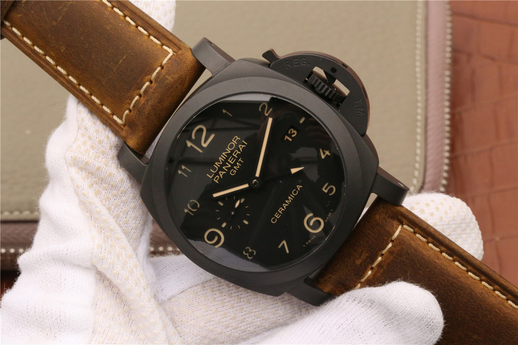 KW V2 Panerai Luminor GMT PAM 441 Replica