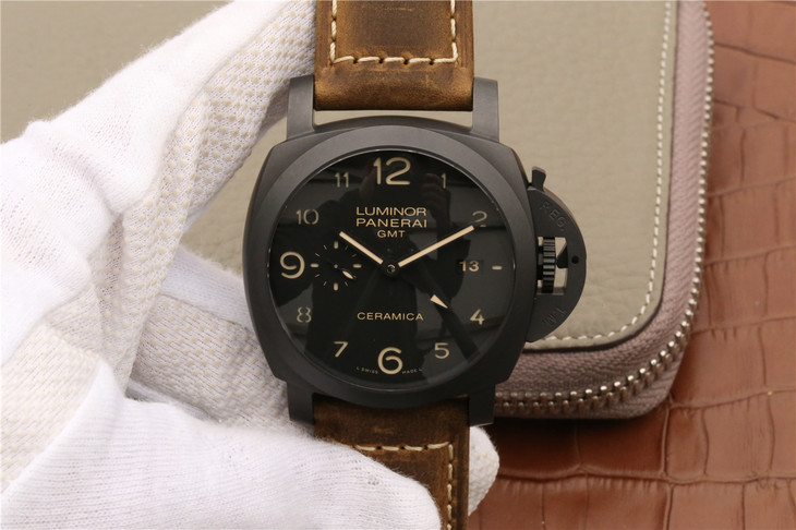 KW V2 Panerai Luminor GMT Replica
