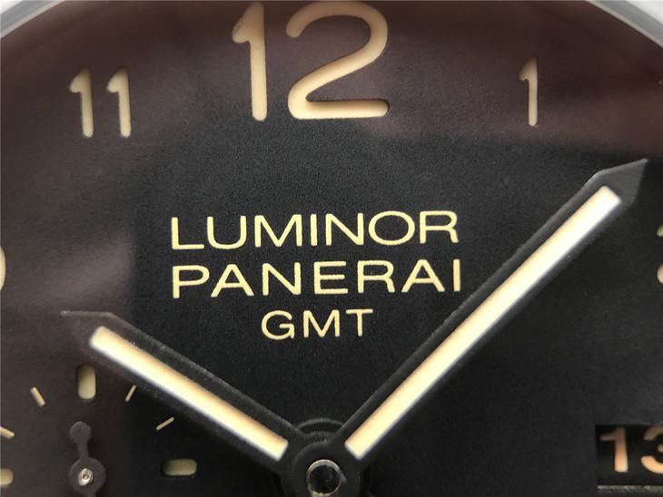 LUMINOR PANERAI GMT Dial