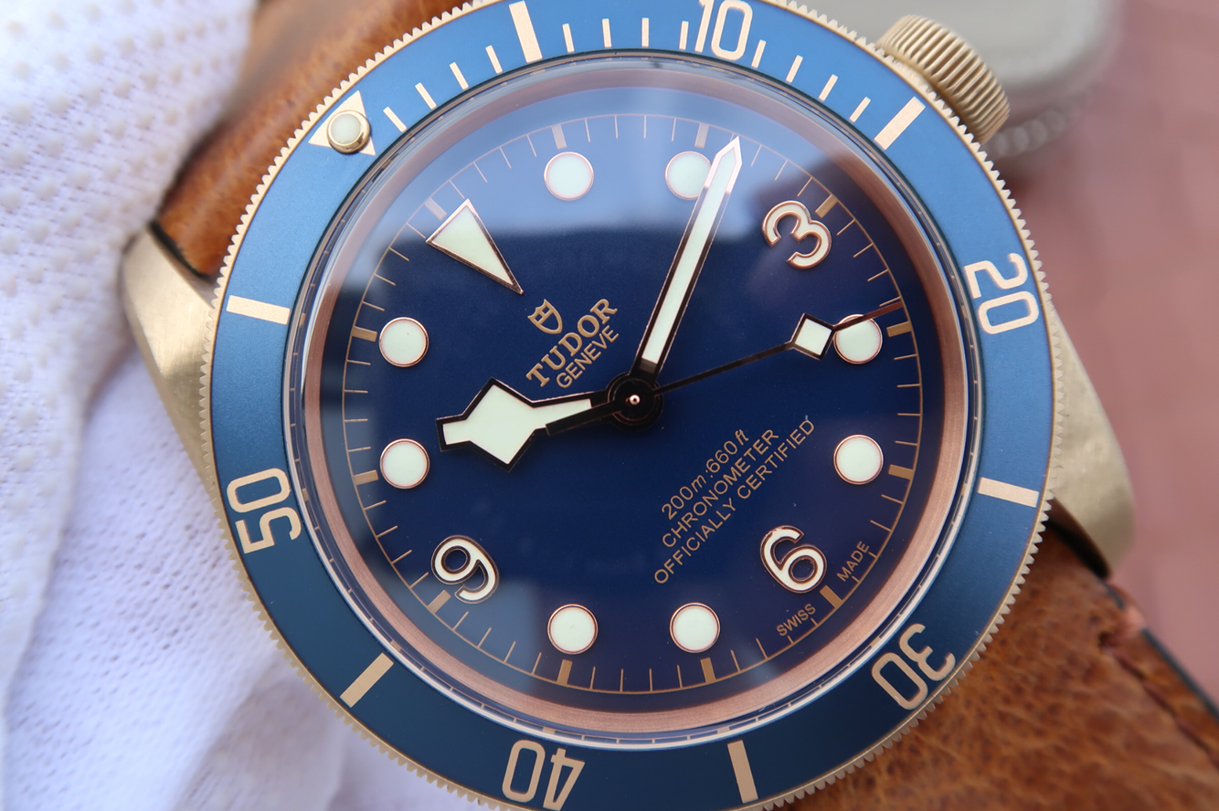 Replica Tudor Bronze Blue Dial