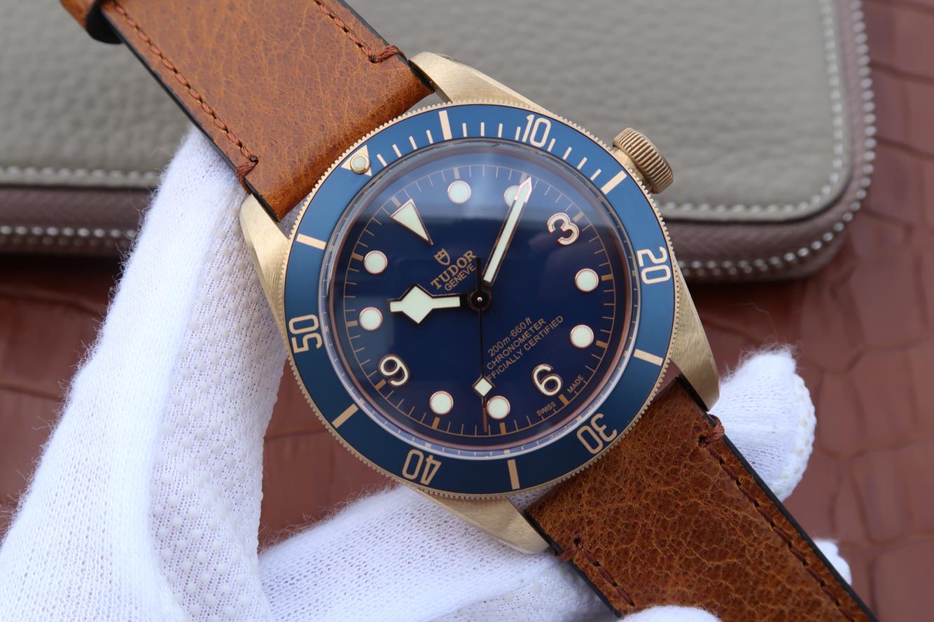 Replica Tudor Bronze Blue