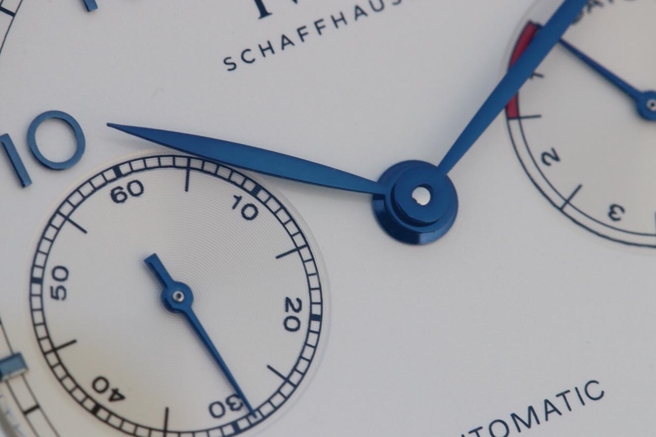 V5 Replica IWC Portuguese IW500705 Blue Hands