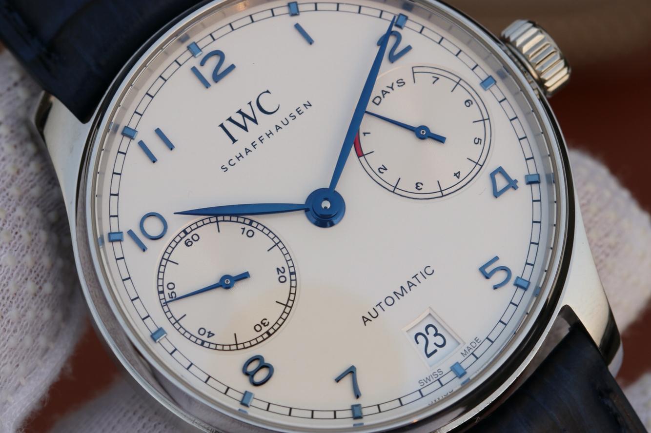 V5 Replica IWC Portuguese IW500705 White Dial