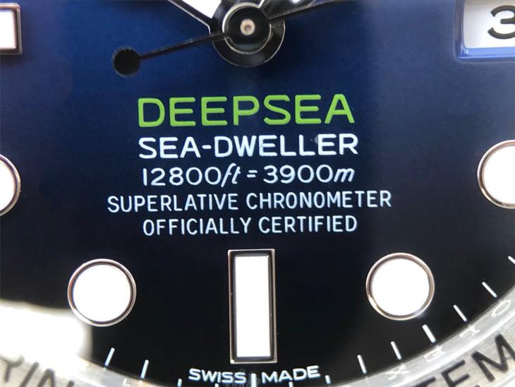 DEEPSEA D-Blue Dial Printings