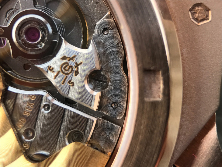 Patek 5711 Clone 324 Movement Polishing