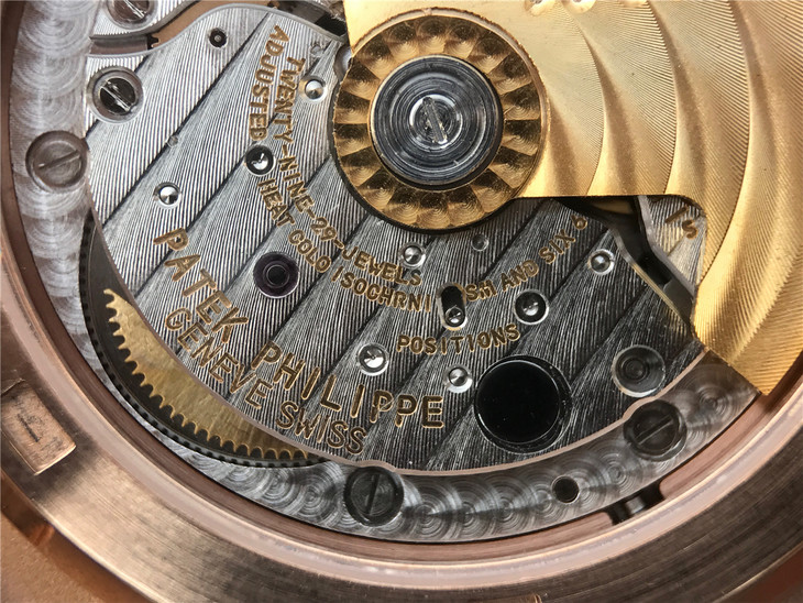 Patek Clone 324 Movement Engravings