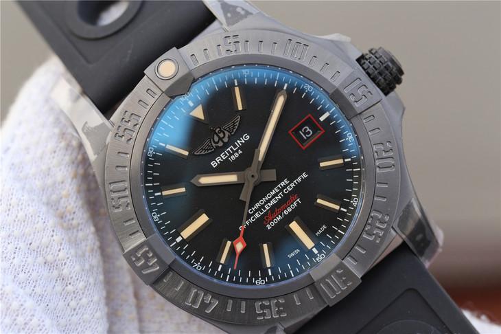 Replica Breitling Avenger BlackBird Black Dial