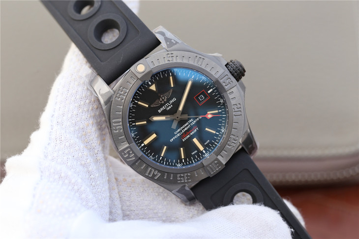 Replica Breitling Avenger BlackBird Titanium Watch