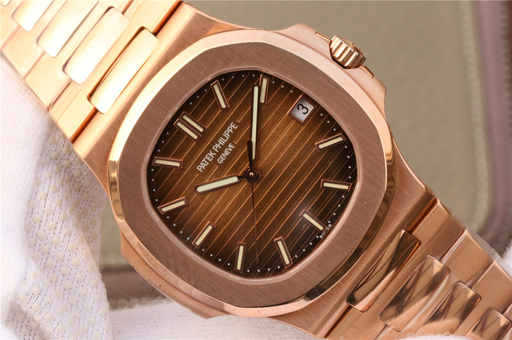 Replica Patek Philippe 5711 Brown Dial