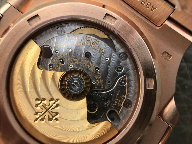 Replica Patek Philippe 5711 Gold Rotor