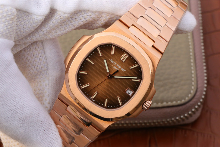 Replica Patek Philippe Rose Gold Case