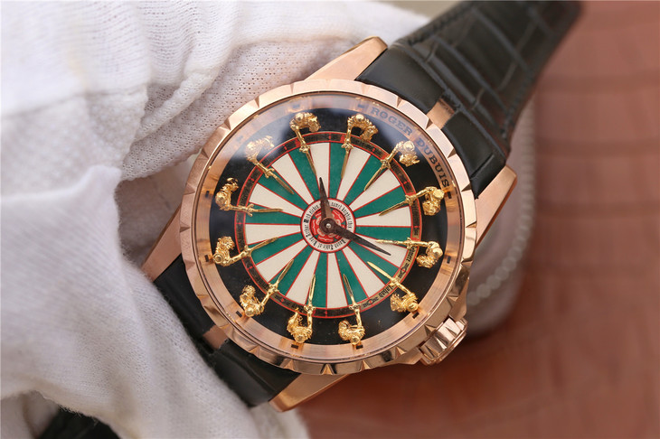 Replica Roger Dubuis Rose Gold Watch