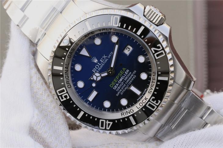 Replica Rolex DEEPSEA D-Blue Dial