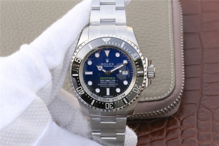 Replica Rolex DEEPSEA Sea-Dweller D-Blue