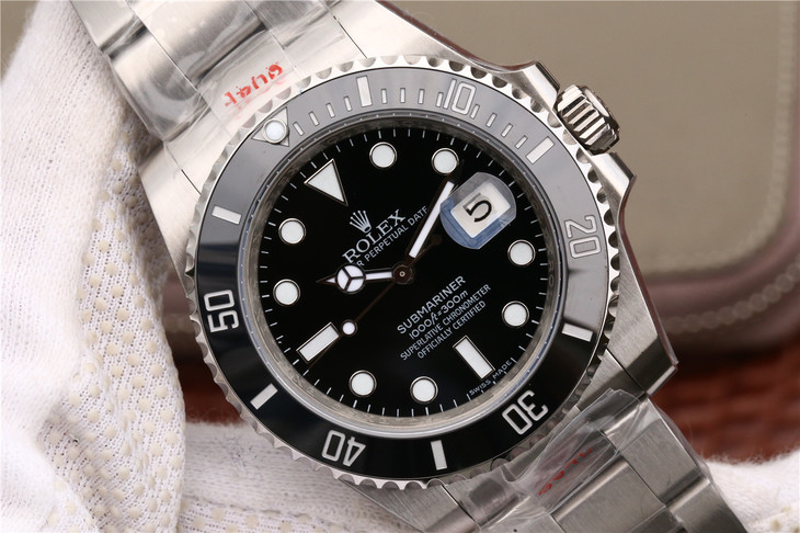 Replica Rolex Submariner 116610LN Black Dial