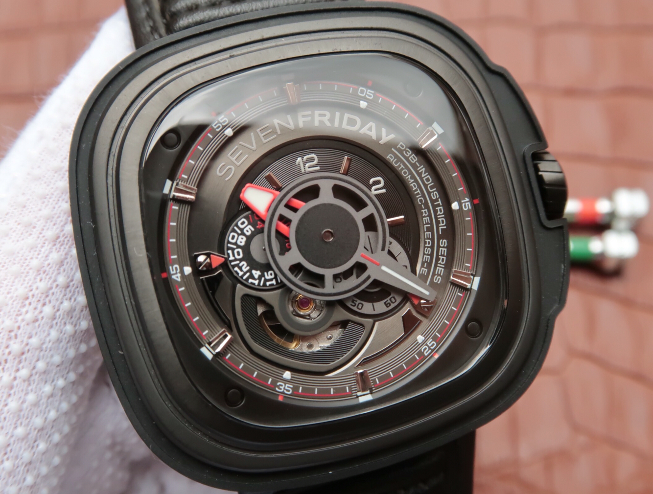 Replica SevenFriday Racer Multi-Tier Dial