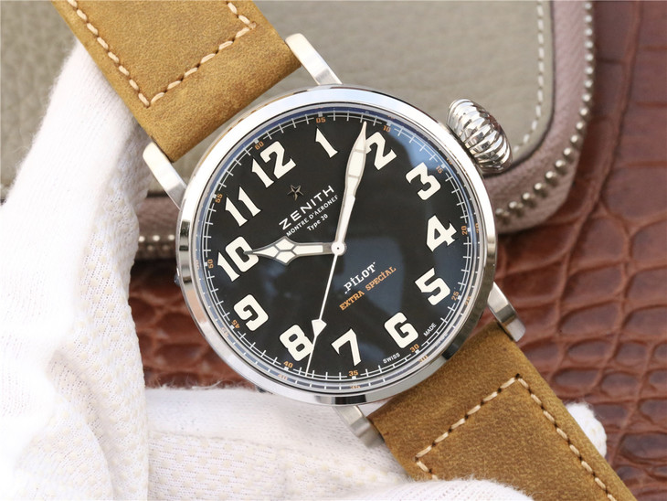 Replica Zenith Pilot Watch