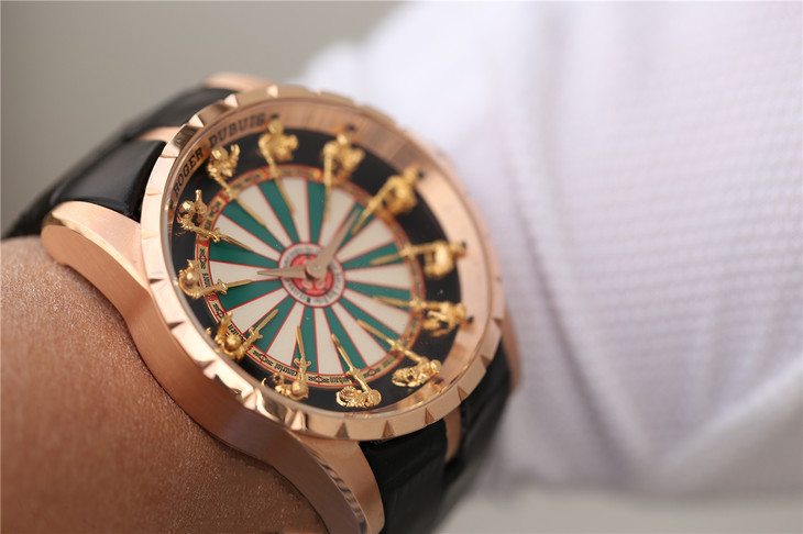 Roger Dubuis Knights of the Round Table Wrist Shot