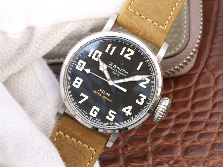 XF Replica Zenith Pilot Watch
