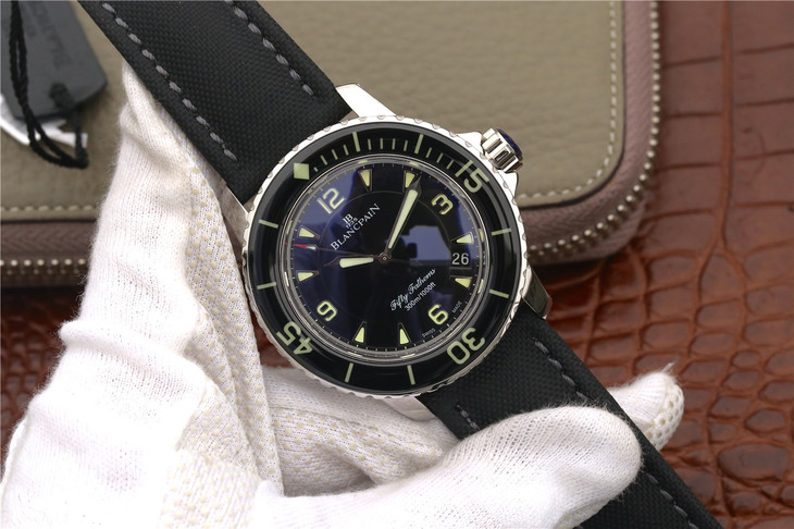 ZF Replica Blancpain Fifty Fathoms Black