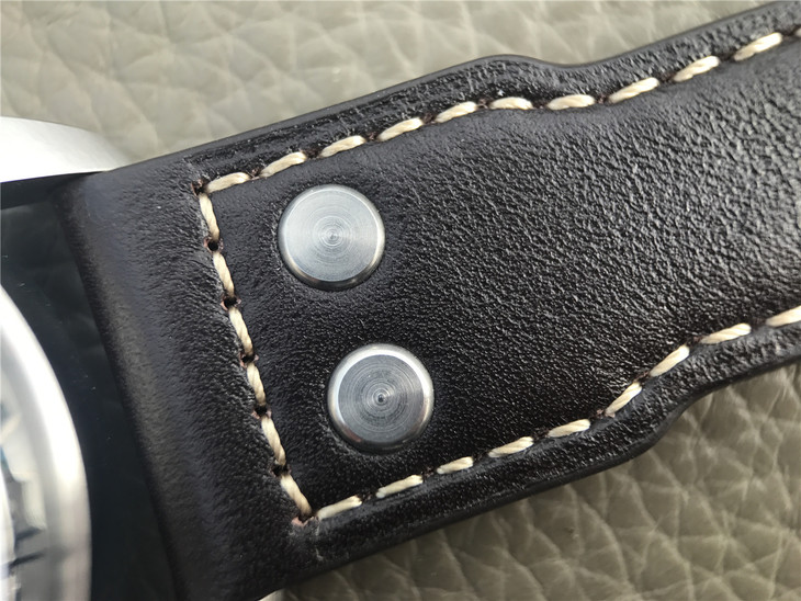 Brown Leather Strap with Studs