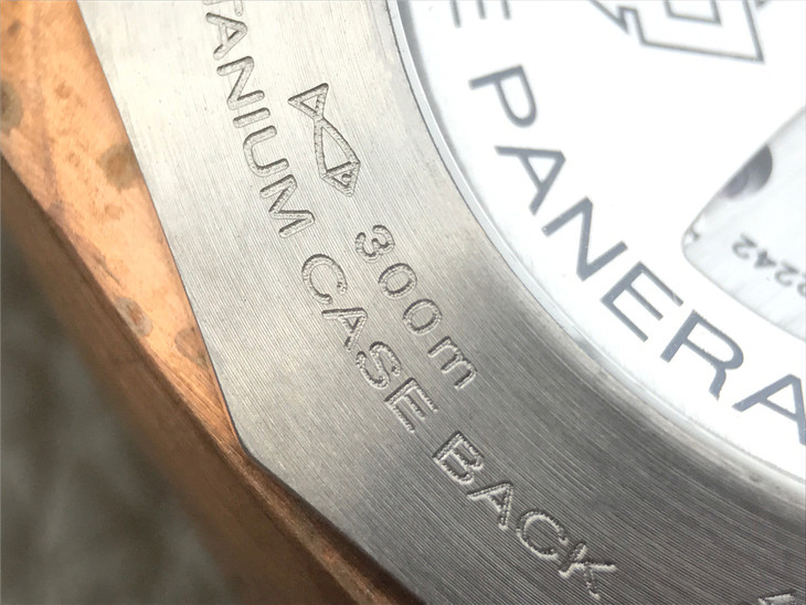 Case Back Engravings on PAM 382