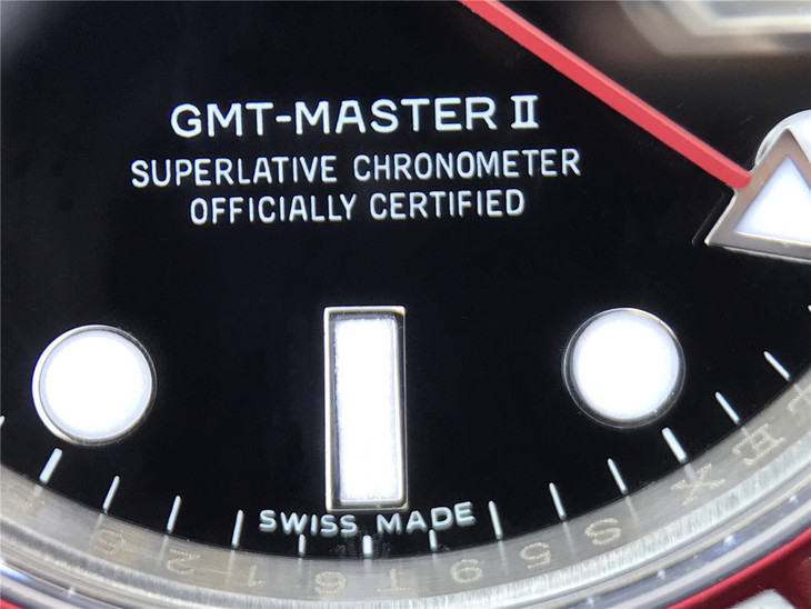 GMT-MASTER II SUPERLATIVE CHRONOMETER OFFICIALLY CERTIFIED