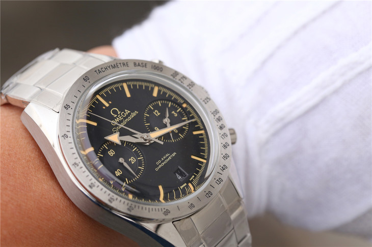 Omega Speedmaster Watch on Wrist