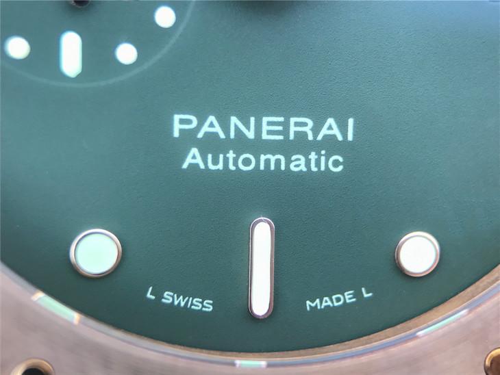 Panerai Automatic Dial Printing