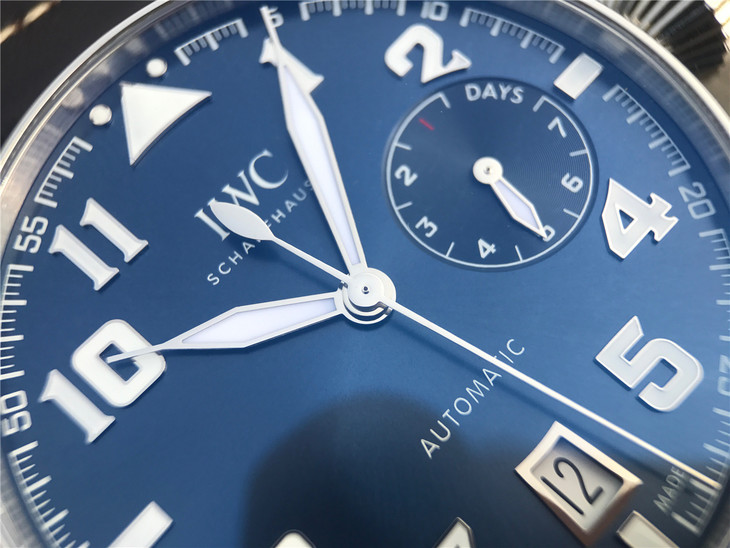 Replica IWC Big Pilot IW500908 Blue Dial