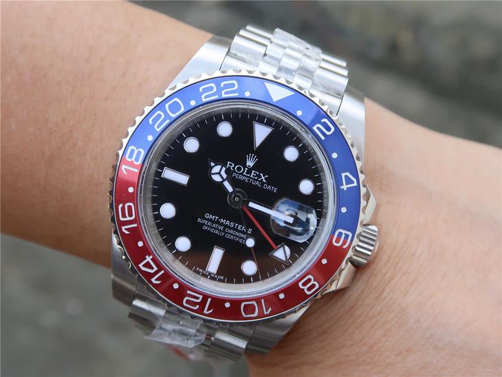 Replica Rolex 126710 Wrist Shot 2