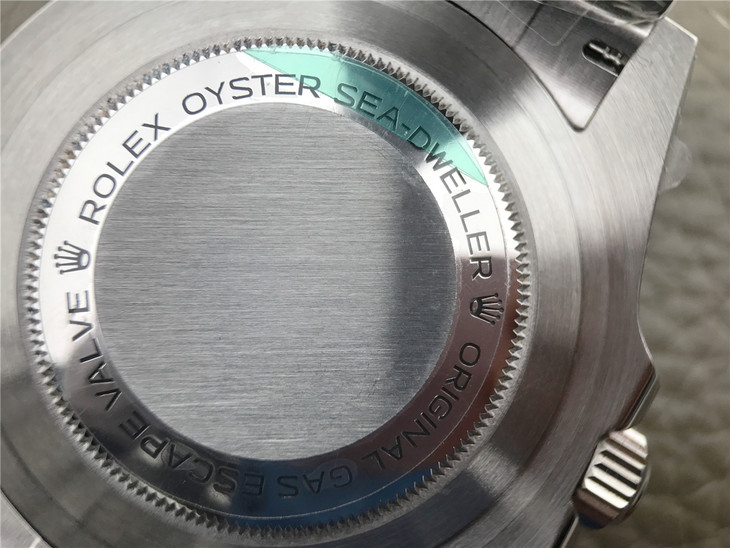 Replica Rolex Sea-Dweller 126600 Back Engravings