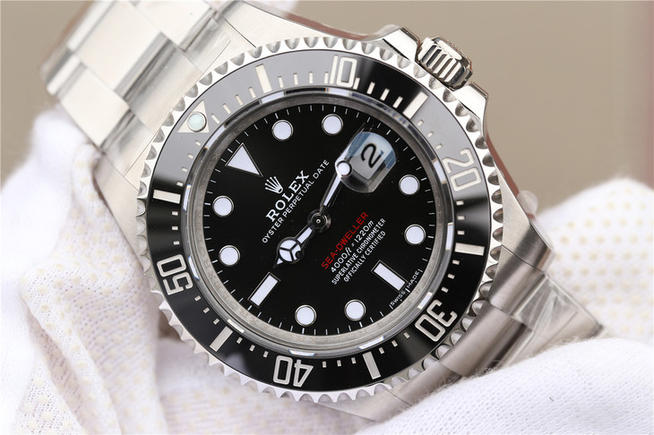 Replica Rolex Sea-Dweller 126600 Black Dial