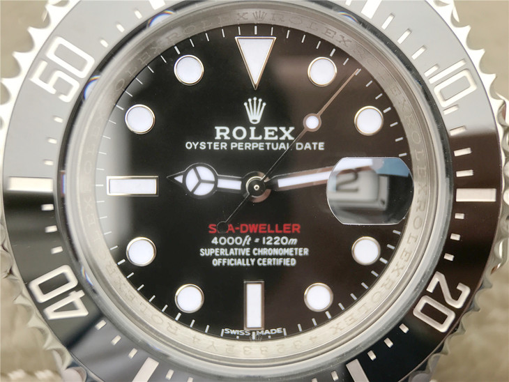 Replica Rolex Sea-Dweller 126600 Ceramic Bezel