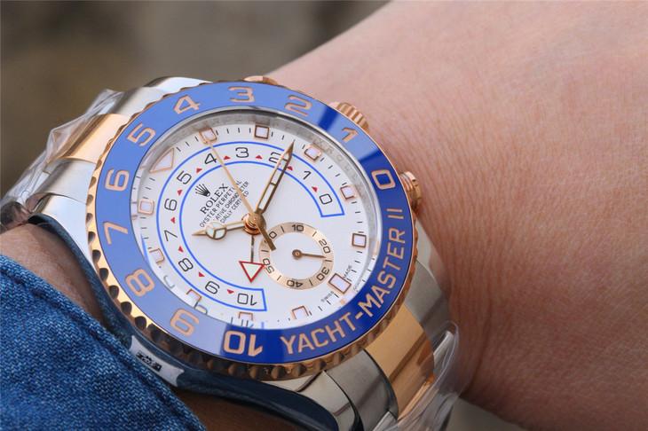 Rolex YachtMaster 116681 Wrist Shot