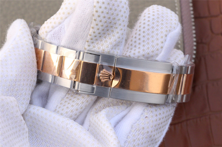 Rolex YachtMaster Two Tone Bracelet