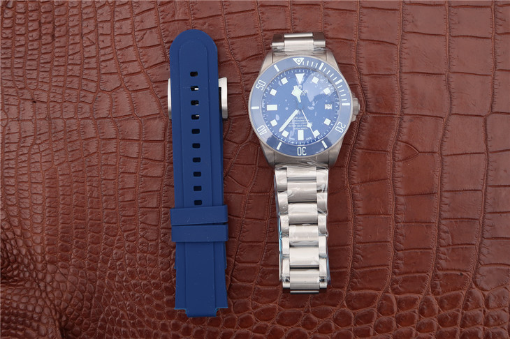 Tudor Blue Pelagos with Blue Rubber Strap