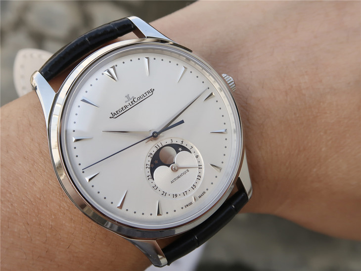 Jaeger LeCoultre Master Ultra Thin Moonphase Wrist Shot