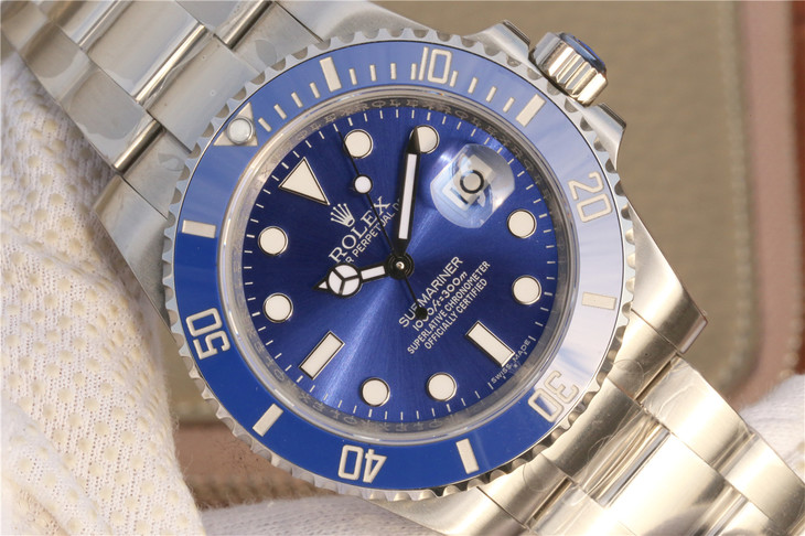 Noob Replica Rolex Submariner Blue Dial