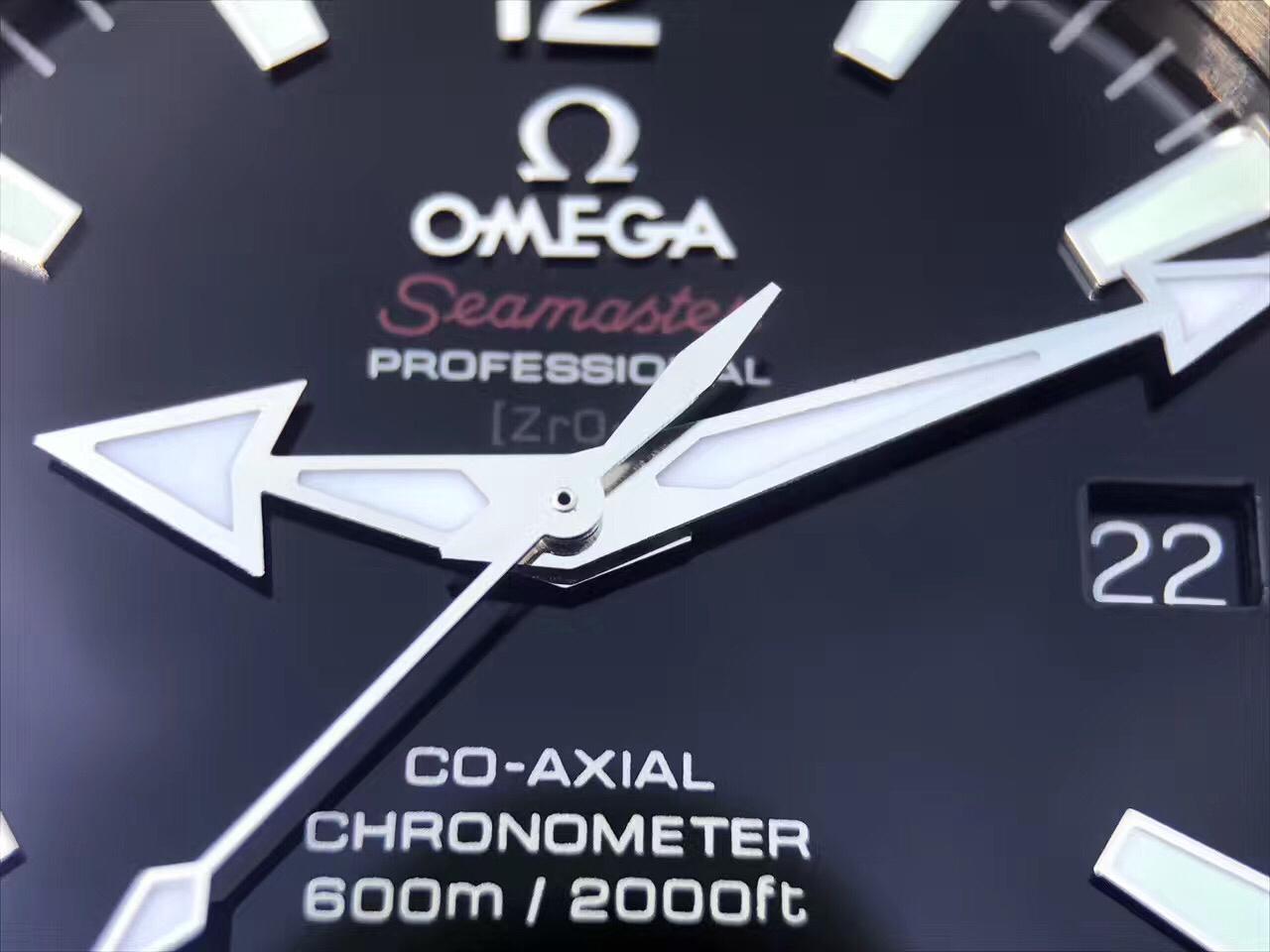 Omega Central Hands