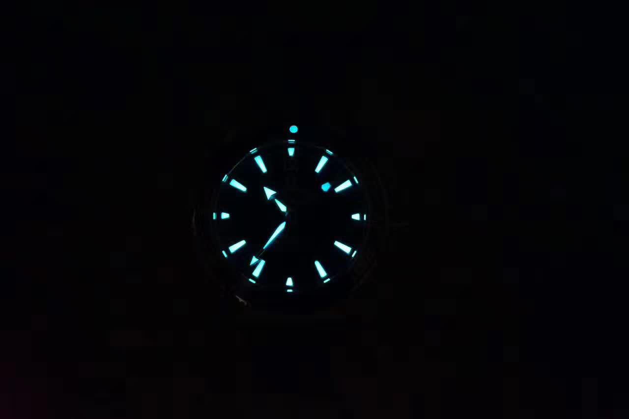 Omega Planet Ocean 1948 Dial Lume