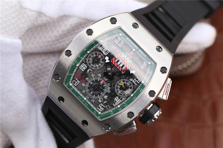 Replica Richard Mille RM011 Green