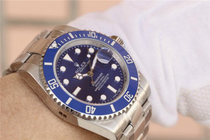 Replica Rolex 116619LB Wrist Shot
