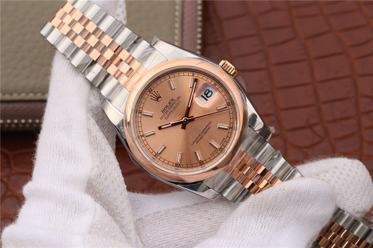 Replica Rolex Datejust Rose Gold
