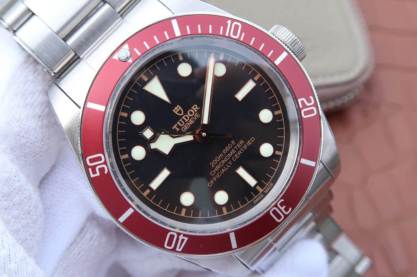 Replica Tudor Black Bay Black Dial