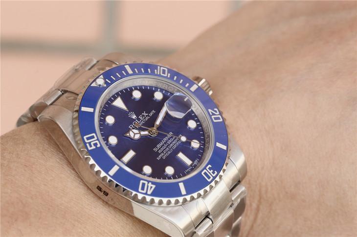 Rolex 116619LB Wrist Shot Photo