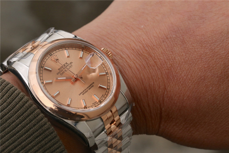 Rolex Datejust 116234 Wrist Shot