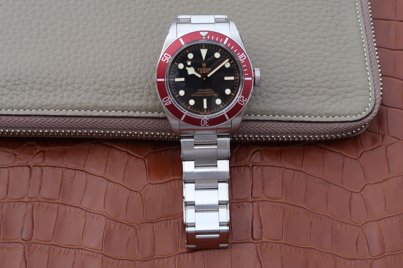 Tudor Black Bay with Rivet Bracelet