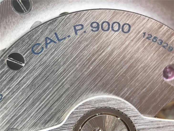 Cal. 9000 Blue Engravings